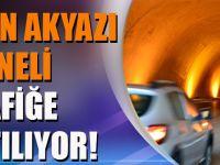 Trabzon Akyazı Tüneli Trafiğe Kapatılıyor!