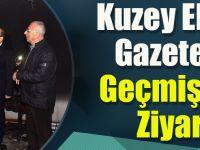 Kuzey Ekspres Gazetesi'ne Geçmiş Olsun Ziyareti