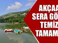 Akçaabat'taki Sera Gölü'nün Temizliği Tamamlandı