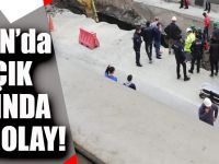 Trabzon'da Dal - Çık İnşaatında Talihsiz Olay!