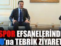 Trabzonspor Efsanelerinden İmamoğlu'na Tebrik Ziyareti