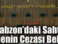 Trabzon'daki Sahte Öğretmenin Cezası Belli Oldu!