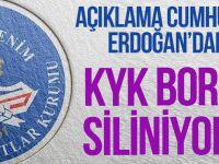 KYK Borçları Silinecek Mi? Cumhurbaşkanı Erdoğan'dan Flaş Açıklama!