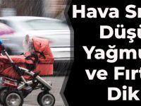 Hava Sıcaklığı Düşüyor, Yağmur, Kar Ve Fırtınaya Dikkat!