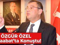CHP Grup Başkanvekili Özgür Özel CHP Akçaabat İlçe Kongresi'nde Konuşma Yaptı.