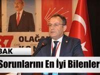 """Mustafa Bak """"Akçaabat'ın Sorunlarını En İyi Bilenlerden Birisiyim"""""""