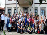 Ebru Sanatçıları Ortamahalle'yi Ziyaret Etti.