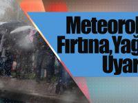 Meteoroloji'den Fırtına, Yağmur, Kar Uyarısı