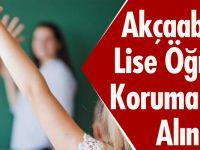 Akçaabat'ta Anne Babası Tarafından Okula Gönderilmeyen Kız Korumaya Alındı