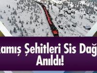 Sarıkamış Şehitleri 2 Bin 200 Rakımlı Sis Dağı'nda Anıldı