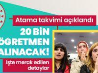 20 Bin Sözleşmeli Öğretmen Alımı İçin Başvurular Başladı