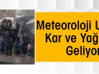 İşte Kar Ve Yağmur Beklenen İller…