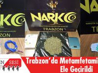 Trabzon'da Metamfetamin Maddesi Ele Geçirildi
