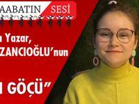 """Akçaabatlı Yazar, Özlem KAZANCIOĞLU'nun Yazısı """"BEYİN GÖÇÜ"""""""