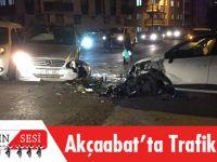Akçaabat'ta Trafik Kazası!