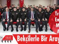 Trabzon Emniyet Müdürü Alper, Bekçilerle Bir Araya Geldi