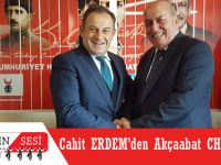 Cahit Erdem'den Akçaabat CHP'ye Ziyaret'