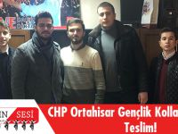 CHP Ortahisar Gençlik Kollarında Devir Teslim!