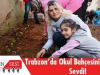 Trabzon'da Bir Okulun Atıl Alanı Hobi Bahçesi Oldu