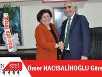 CHP Trabzon İl Başkanı Olan Ömer Hacısalihoğlu Görevi Devraldı