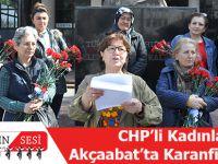 CHP'li Kadınlar Akçaabat'ta Karanfil Dağıttı!