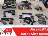 Akçaabat'ta Kaçak Silah Operasyonu
