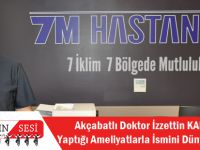 Akçaabatlı Doktor İzzettin KAHRAMAN,Yaptığı Ameliyatlarla İsmini Dünyaya Duyurdu!