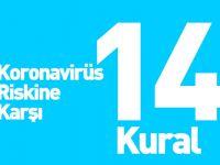 Sağlık Bakanlığı'ndan Koronavirüs Riskinden Koruyacak 14 Kural