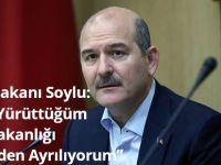 İçişleri Bakanı Süleyman Soylu, Bakanlık Görevinden Ayrıldığını Açıkladı.