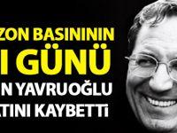 Trabzon Basınının Emektarlarından Harun Yavruoğlu Hayatını Kaybetti.