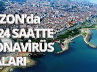 Trabzon'da Son 24 Saatte Koronavirüs Vakaları