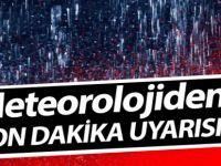 Doğu Karadeniz'e Sağanak Yağış Geliyor