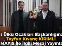 Akçaabat Ülkü Ocakları Başkanlığına Atanan Taygun Kıvanç KIRIMLI'nın İlk Mesajı 19 Mayıs İle İlgili Oldu.