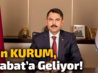 Çevre Ve Şehircilik Bakanı Murat Kurum Akçaabat'a Geliyor