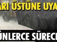 Hava Durumuna Dikkat! Yağışlar Günlerce Sürecek…