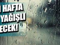 Bu Hafta Da Yağışla Geçecek!