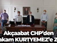 Akçaabat CHP'den Kaymakam Kurtyemez'e Ziyaret