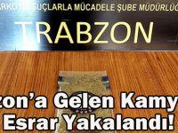 Trabzon'a Gelen Kamyonda Esrar Yakalandı.