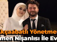 Akçaabatlı Yönetmen Öğretmen Nişanlısı İle Evlendi