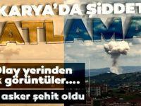 Sakarya Taşkısığı Bölgesinde Havai Fişek Taşıyan Kamyonda Patlama: 3 Asker Şehit 6 Yaralı