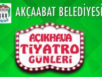 Akçaabat'ta Açık Hava Tiyatro Günleri