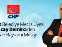 Tuncay Demirci'den Kurban Bayramı Mesajı.