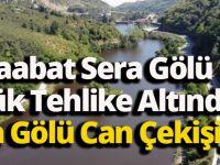 Akçaabat Sera Gölü Can Çekişiyor