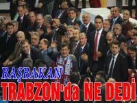 Davutoğlu'nun Trabzon Konuşması