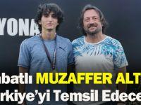 Akçaabatlı Muzaffer Altındaş Türkiye'yi Temsil Edecek!