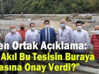 """CHP'den Ortak Açıklama """"Hangi Akıl Bu Tesisin Buraya Yapılmasına Onay Verdi?"""""""