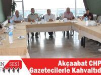 Akçaabat CHP, Gazetecilerle Kahvaltıda Buluştu!