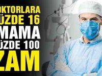 Doktorlara Yüzde 16 İmama Yüzde 100 Zam