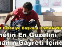 Akçaabat Belediye Başkanı Osman Nuri Ekim 'Hizmetin En Güzelini Sunmanın Gayreti İçindeyiz'