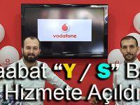 """Akçaabat """"Vodafone Y / S Bayii"""" Hizmete Açıldı"""